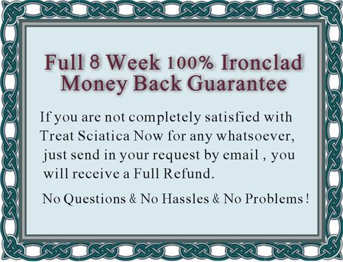 Money back for sciatica treatment